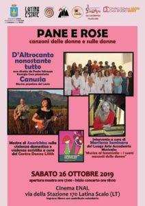 Pane e Rose - Canzoni delle donne e sulle donne @ Cinema Enal - Latina Scalo