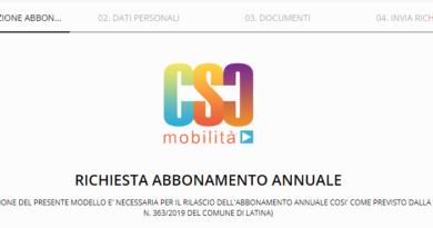 Abbonamento annuale per i mezzi pubblici di Latina – Come attivarlo on-line