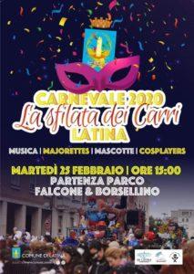 Carnevale di Latina 2020 @ Latina Centro