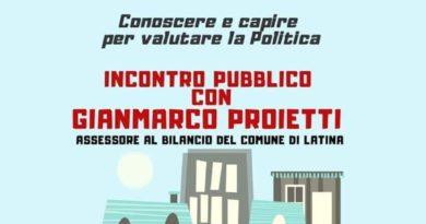 """Diretta sul canale FB Latinascalo.org della conferenza """"Il bilancio del Comune spiegato ai cittadini"""""""