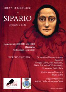 """Rappresentazione Teatrale dal titolo """"Sipario"""" @ Auditorium Comunale - Bassiano"""