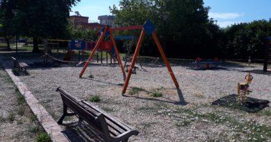 L'area giochi del Parco Faustinella riapre: ora è ufficiale