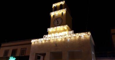 Natale 2020 a Latina Scalo con le luminarie
