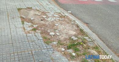 """Marciapiedi dissestati, la segnalazione di un lettore: """"Il centro di Latina Scalo abbandonato""""   Latinatoday"""